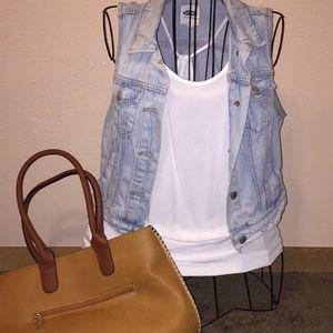 Super cute blue jean vest